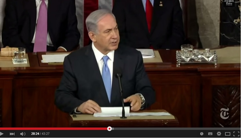 Speech Netanyahu