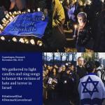 Copenhagn light vigil